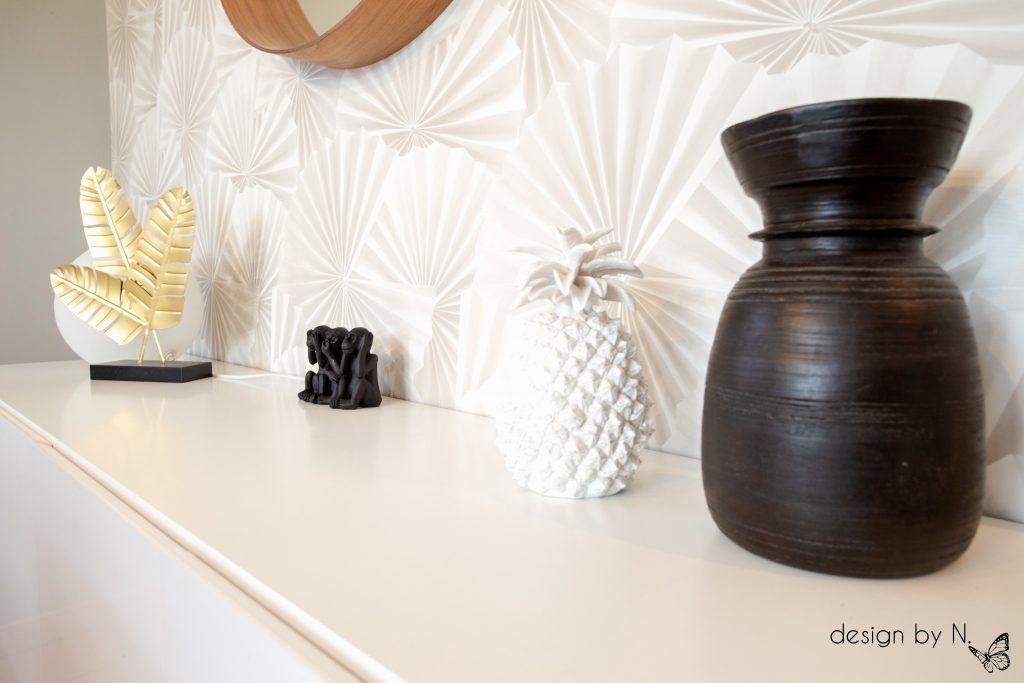 Détail décoration salle à manger