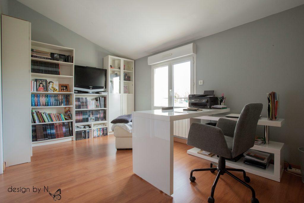 Home staging et optimisation du palier de l'étage
