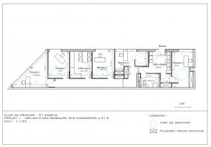 Projet implantation sommaire des bureaux