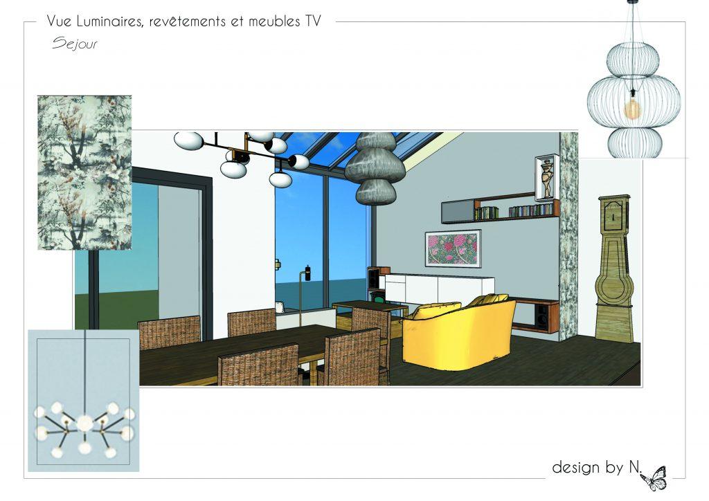 Planche Vues 3D revêtements et mobiliers_séjour
