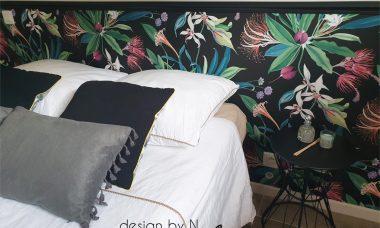 Création, agencement et décoration d'une chambre en sous-sol