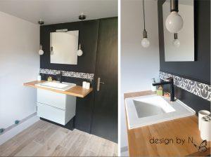 Création, agencement et décoration d'une salle de bain en sous-sol