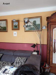 photo avant projet de décoration