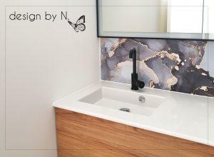 photo après projet de décoration salle d'eau Perpignan